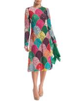 Women Dolce & Gabbana Multicolour Maxi Dress - Multicolour Size M UK 10 US 6 IT 42