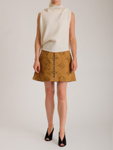 Women Roland Mouret Eugene Ribbon-Tie Top - White Size S UK 8 US 4 FR 36