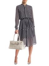 Women Michael Kors Polka Dotted Dress - Black Size S UK 8 US 2