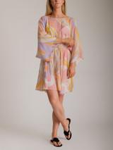 Women Emilio Pucci Printed Open Back Cover Up - Multicolour Size M UK 10 US 8 IT 42