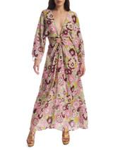 Women Dodo Bar Or Floral Cut-Out Dress - Multicolour Size L UK 12 US 8