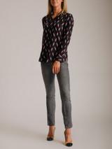 Women Isabel Marant Étoile Low-Waist Jeans - Grey Size XS UK 6 US 0