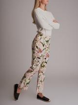 Lily Print Pants - Multicolor Size M UK 12 US 8 IT 44
