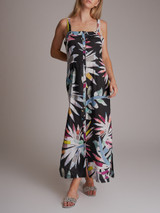 Women Mara Hoffman Xylophone Print Linen Dress - Multicolor Size XS UK 6 US 2