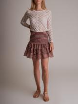 Women Isabel Marant Lace Top - White Size M UK 12 US 8 FR 40