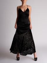Women Racil Leopard Detail Maxi Dress - Black Size M UK 10 US 6 FR 38
