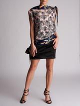 Women Emilio Pucci Printed Silk Blouse - Multicolour Size S UK 8 US 6 IT 40