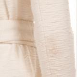 Women Alexandre Vauthier Belted Tweed Blazer Dress - Size M  White US 6 FR 38