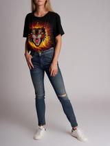 Women Current Elliott The High Waist Ankle Skinny Jeans - Blue Size XS UK 6 US 0