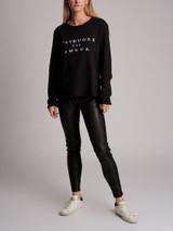 Women Gucci L'Aveugle Par Amour Sweatshirt - Black Size S UK 8 US 4