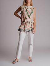 Women Emilio Pucci Printed Top - Multicolour Size S UK 8 US 4