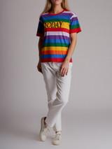 Women Alberta Ferretti Today Rainbow T-Shirt - Multicolour Size XS UK 6 US 2