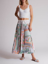 Women Emilio Pucci Printed Skirt - Multicolour Size XS UK 6 US 0 IT 38
