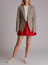 Women 3.1 Phillip Lim Striped Blazer - White Size S UK 8 US 4
