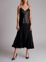 Women Balenciaga Leather Corset Dress - Black Size M UK 10 US 6 FR 38