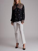 Women Philosophy di Lorenzo Serafini Floral Printed Shirt - Multicolour Size  S UK 8 US 4 IT 40
