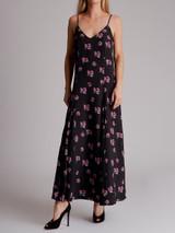 Women Racil Floral Printed Spaghetti Strap Slip Maxi Dress - Multicolour Size M UK 10 US 6 FR 38