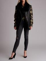 Women Iro Courtney Shearling Vest - Black Size XS UK 6 US 2 FR 34