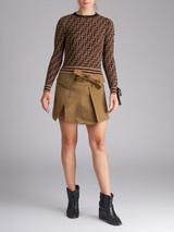 Women Isabel Marant Khaki Wrap Skirt - SIze XS UK 6 US 2 FR 34