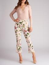 Women Joseph Light Pink Cashmere V-Neck Sweater - Size S UK 8 US 4