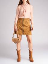 Women Prada Blush Pink Silk Shirt - Size M UK10 US8 IT42