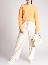 Women Acne Studios Orange Wool Knit Sweater - Size S UK8 US4