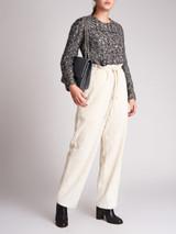 Women Giambattista Valli Grey Wool Tweed Top - Size XXS UK6 US0 IT38