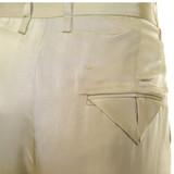 Women Bottega Veneta Pleated Satin-Twill Wide-Leg Pant - Size XS  Green US 2 IT 38