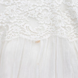 Women Stella McCartney Sheer Blouse with Lace Trim White - Size M  White US 8 IT 44