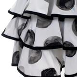 Women Dolce & Gabbana Polka Dot Dress Black and White -  White  Multi Size S US 4 IT 40