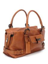Women Salvatore Ferragamo Leather Buckle Bag -  Brown