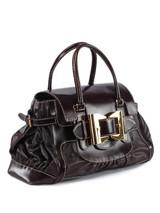 Women Gucci Buckled Bag -  Black