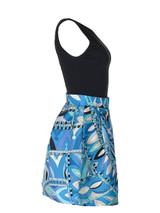 Women Emilio Pucci Print Dress -  Blue Size S IT 42 US 6
