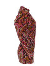 Women ROTATE BIRGER CHRISTENSEN Paisley Print Mini Dress -  Red/Green/White Size S IT 40 US 4