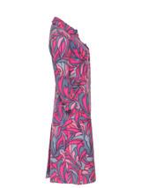 Women Dolce & Gabbana Printed Coat -  Blue/Pink/Purple Size S IT 40 US 4