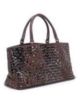 Women Bottega Veneta Cabat Intrecciato Tote Bag - Brown