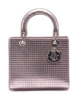 Women Christian Dior Metallic Lady Dior - Pink