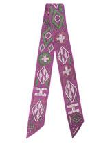 Women Hermès Twilly Printed Scarf - Purple