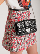 Cannage Quilted Pouch Clutch Bag