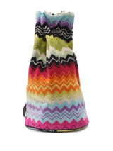 Women Missoni Towel Beach Bag - Multicolour