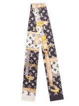 Women Louis Vuitton Monogram Chain Scarf - Multicolour