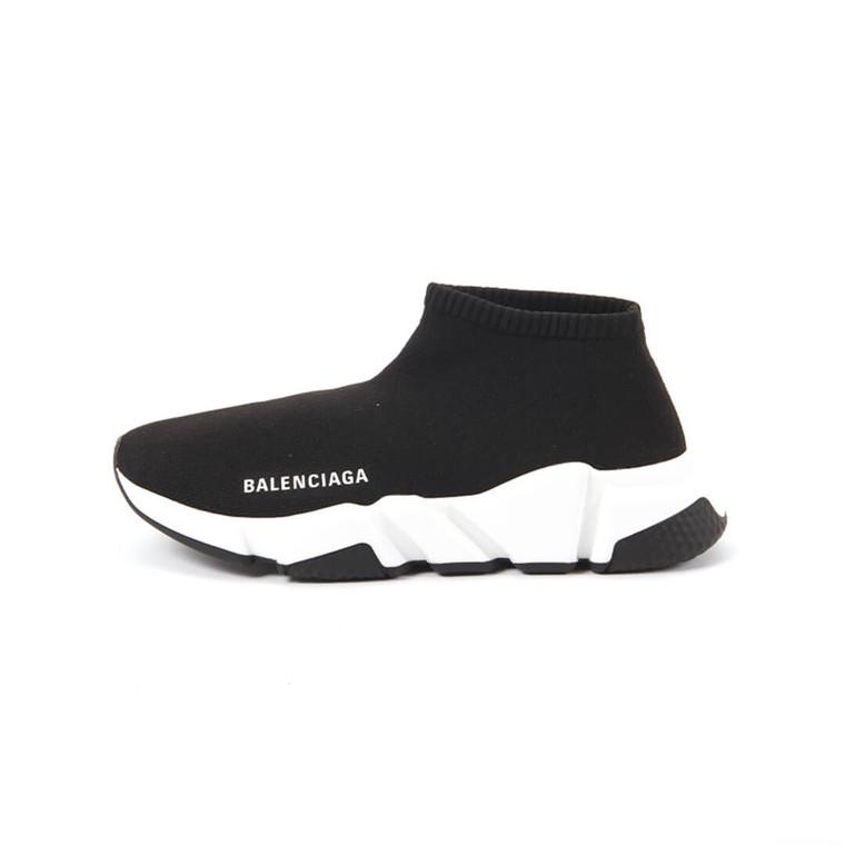Women Balenciaga Speed Sock Sneakers - Size 39  Black US 8.5 EU 39