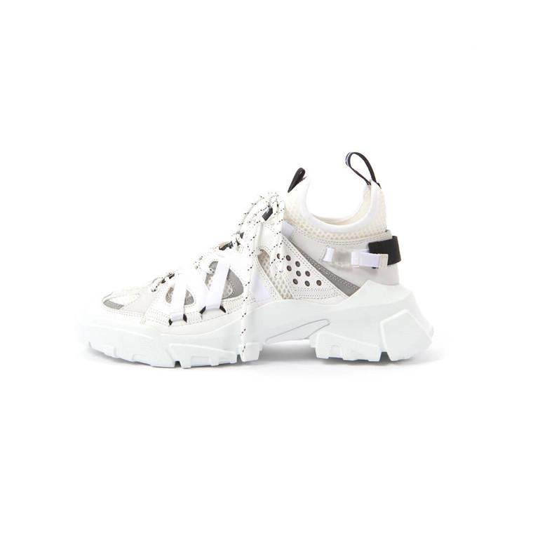 Women Alexander McQueen Descender Sneakers Low-top White - Size 38  White US 7.5 EU 38