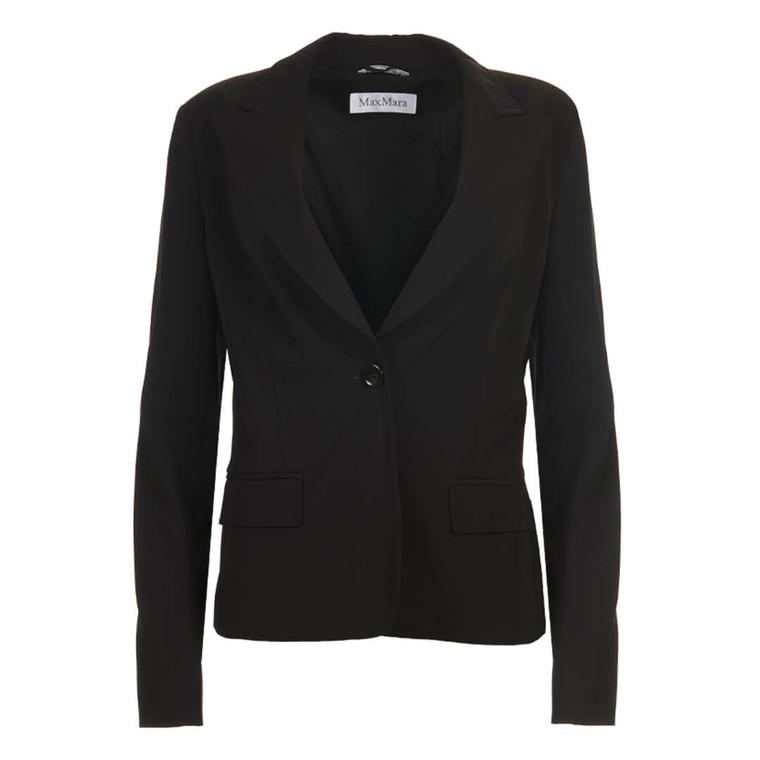 Women Max Mara Black Blazer - Size M  Black US 8 FR 40