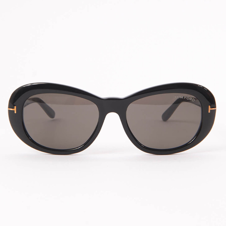 Women Tom Ford Elodie Oval Sunglasses -