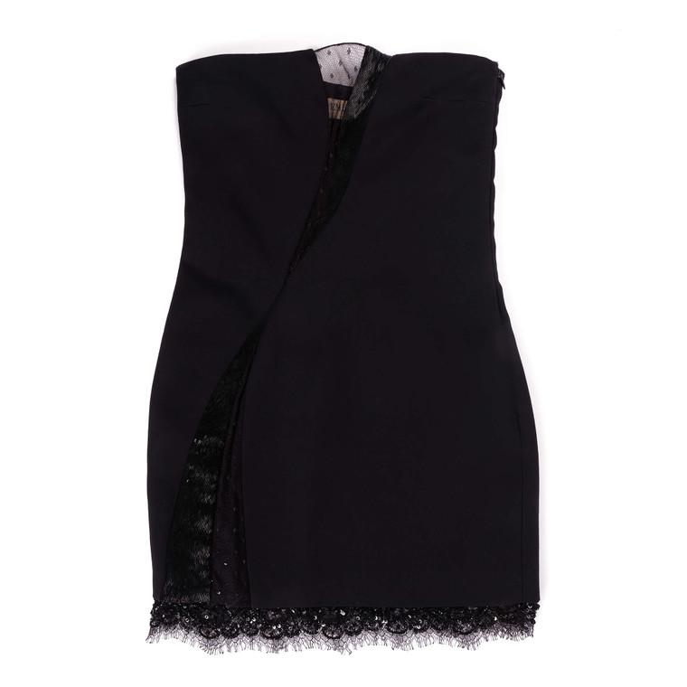 Women Emilio Pucci Tight Mini Dress Black -  Black Size XS IT 38 US 2
