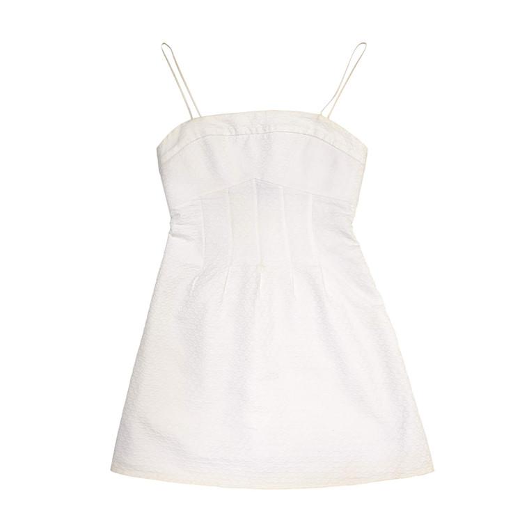 Women Blumarine Ultra Mini Dress -  White Size XS FR 34 US 2