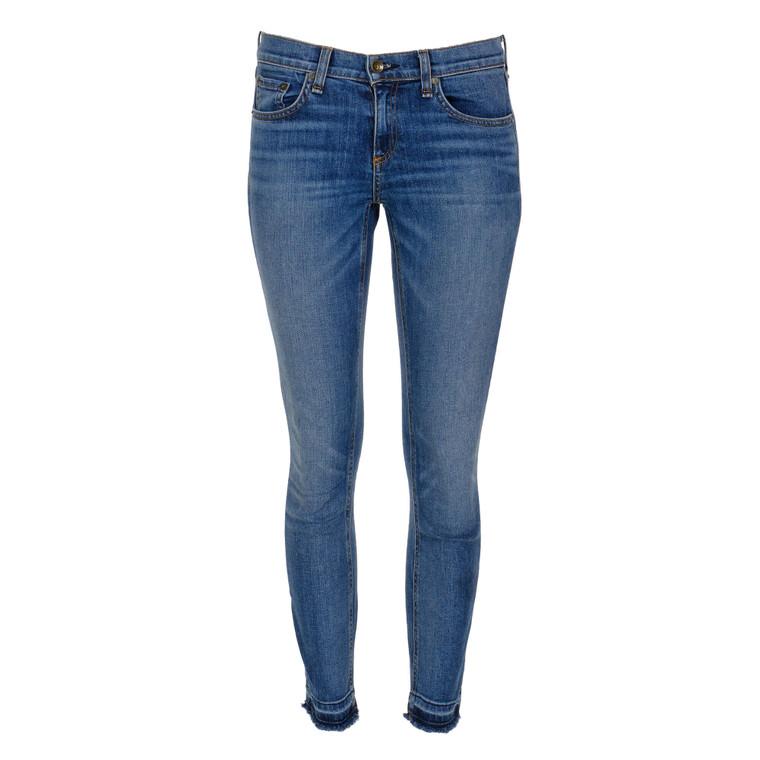 Women Rag & Bone Dre Capri Jeans Dark Blue -  Blue Size S US 26