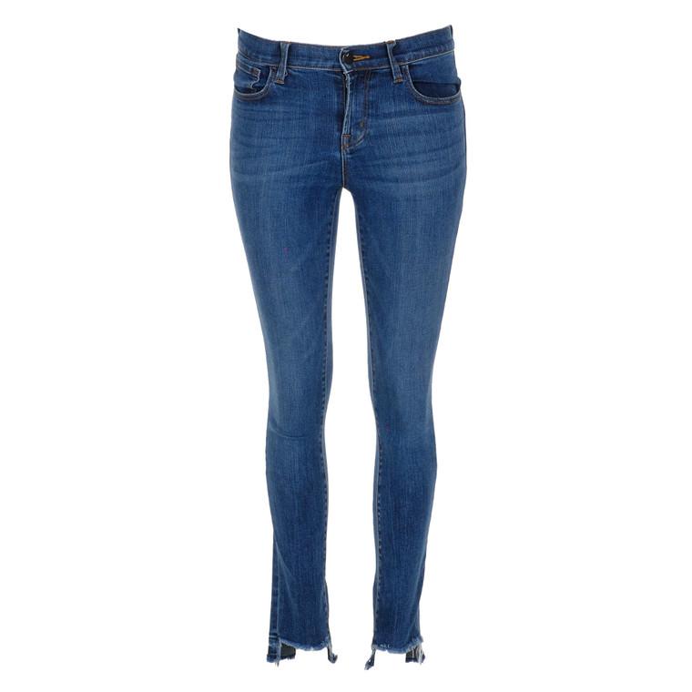 Women J Brand Skinny Fit Jeans Dark Blue -  Blue Size S US 26