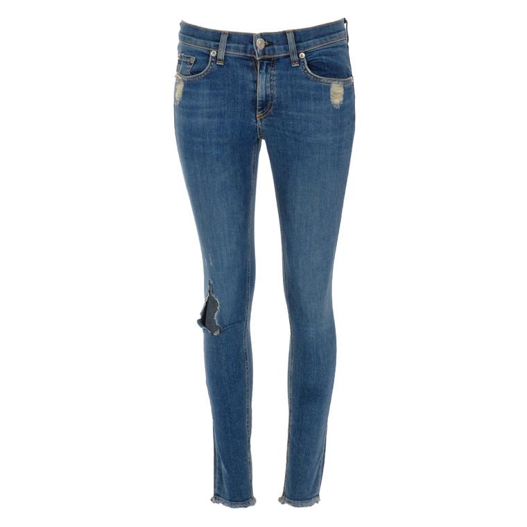 Women Rag & Bone Skinny Jeans Dark Blue -  Blue Size S US 27